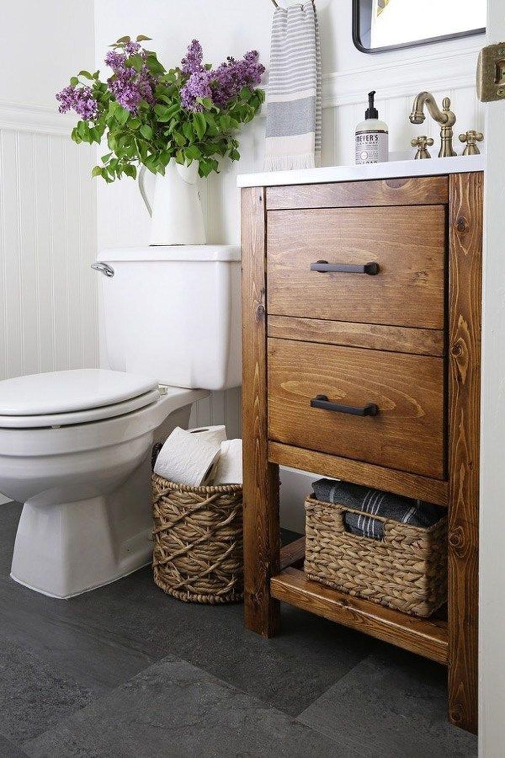 Fascinating Rustic Bathroom Decor Ideas You Must Copy 24