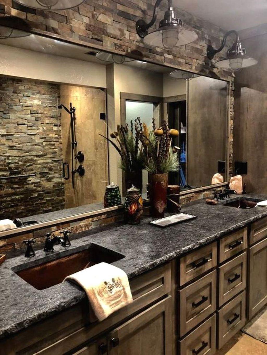 Fascinating Rustic Bathroom Decor Ideas You Must Copy 27