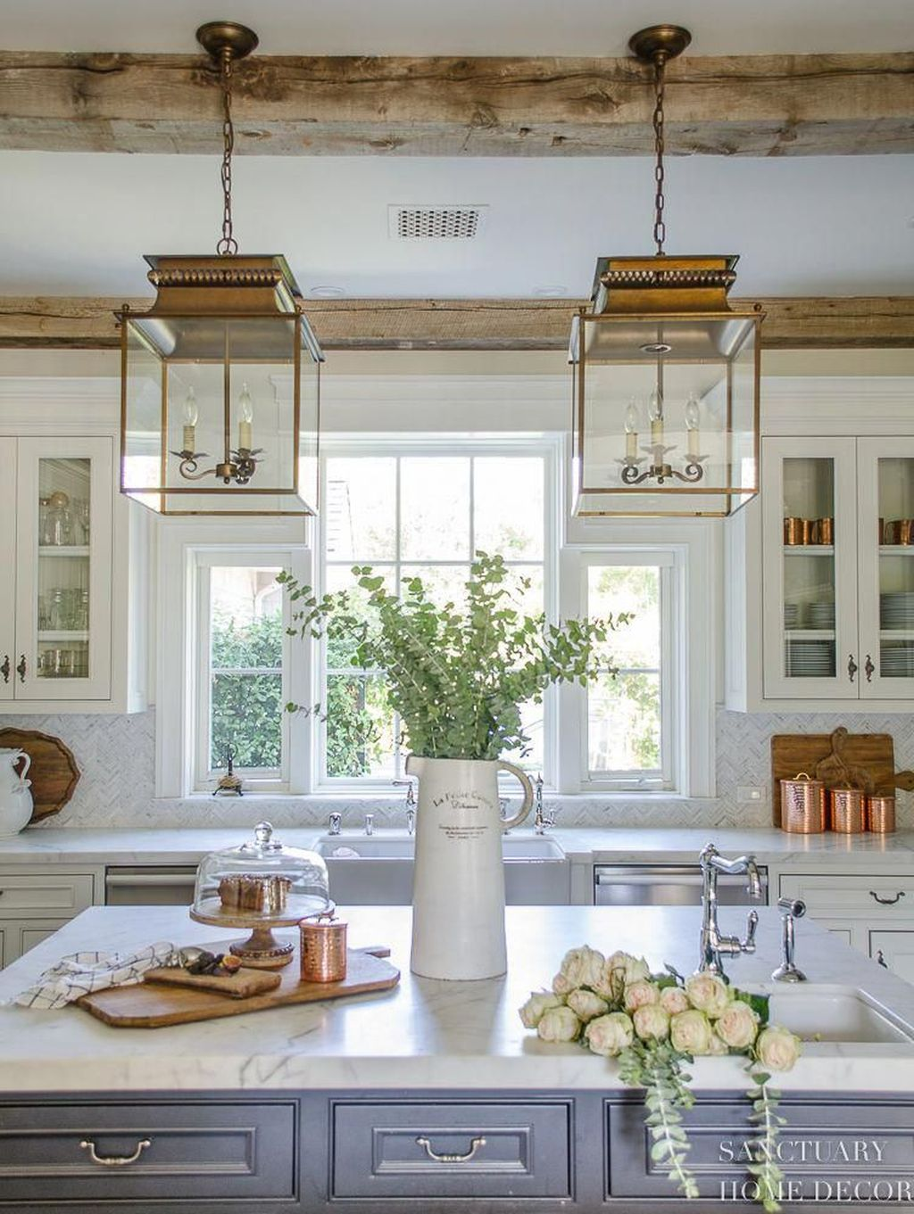 Inspiring Country Kitchen Decor Ideas You Should Copy 25