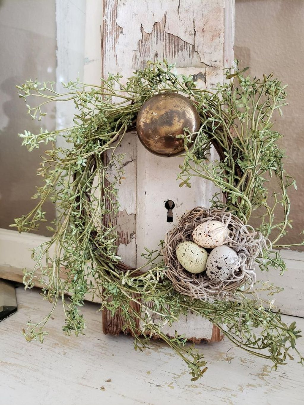 Popular DIY Spring Decor Ideas With Rustic Style 01