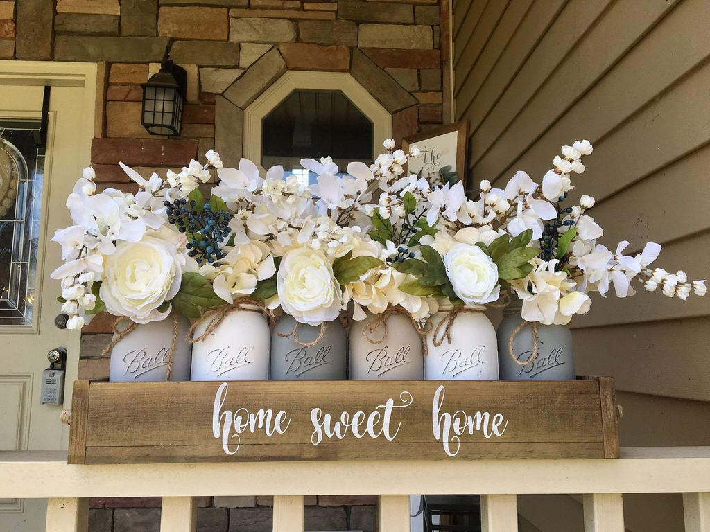 Popular DIY Spring Decor Ideas With Rustic Style 12