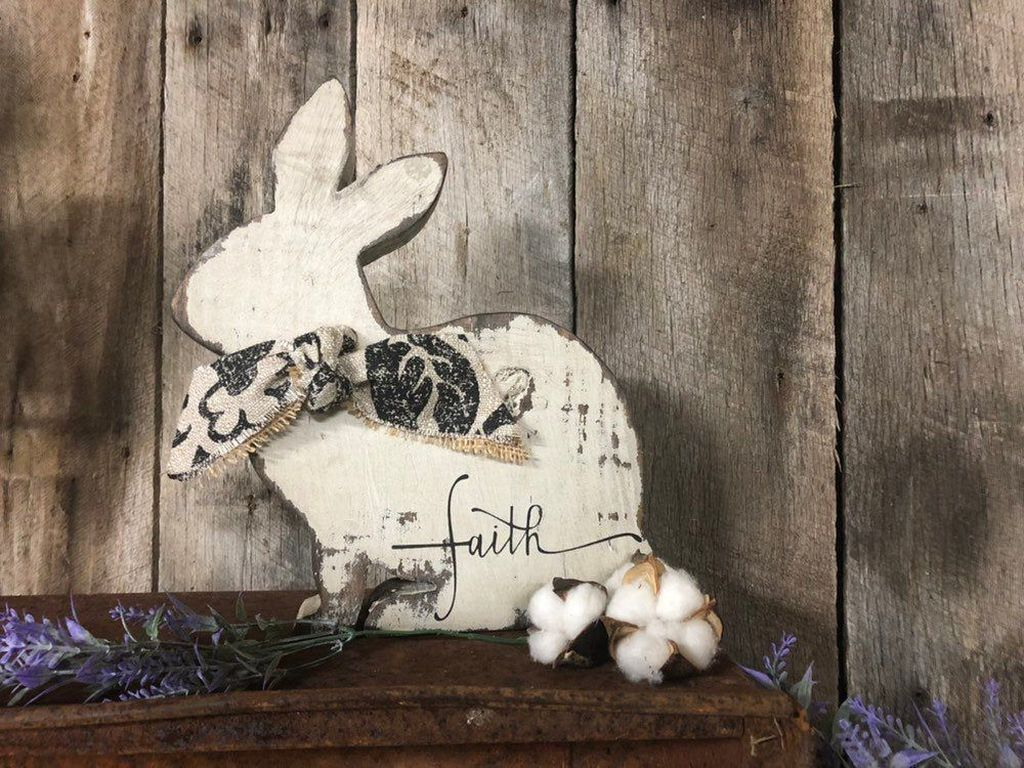 Popular DIY Spring Decor Ideas With Rustic Style 15