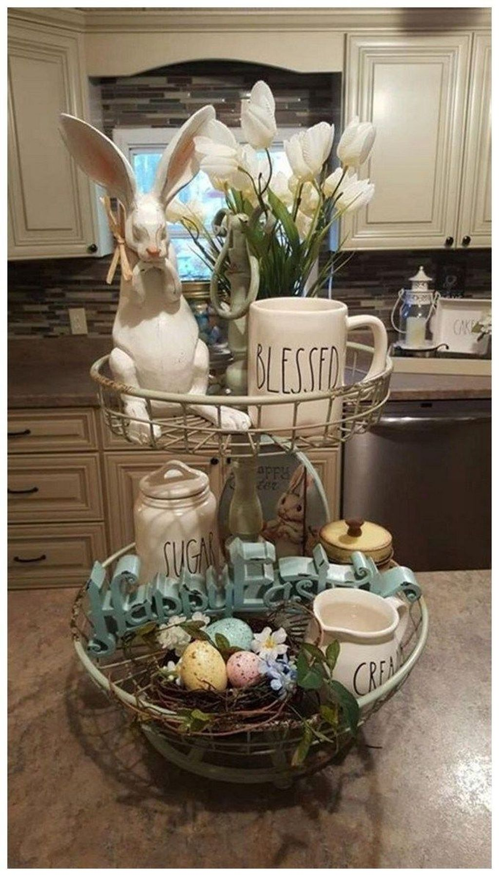 Popular DIY Spring Decor Ideas With Rustic Style 16