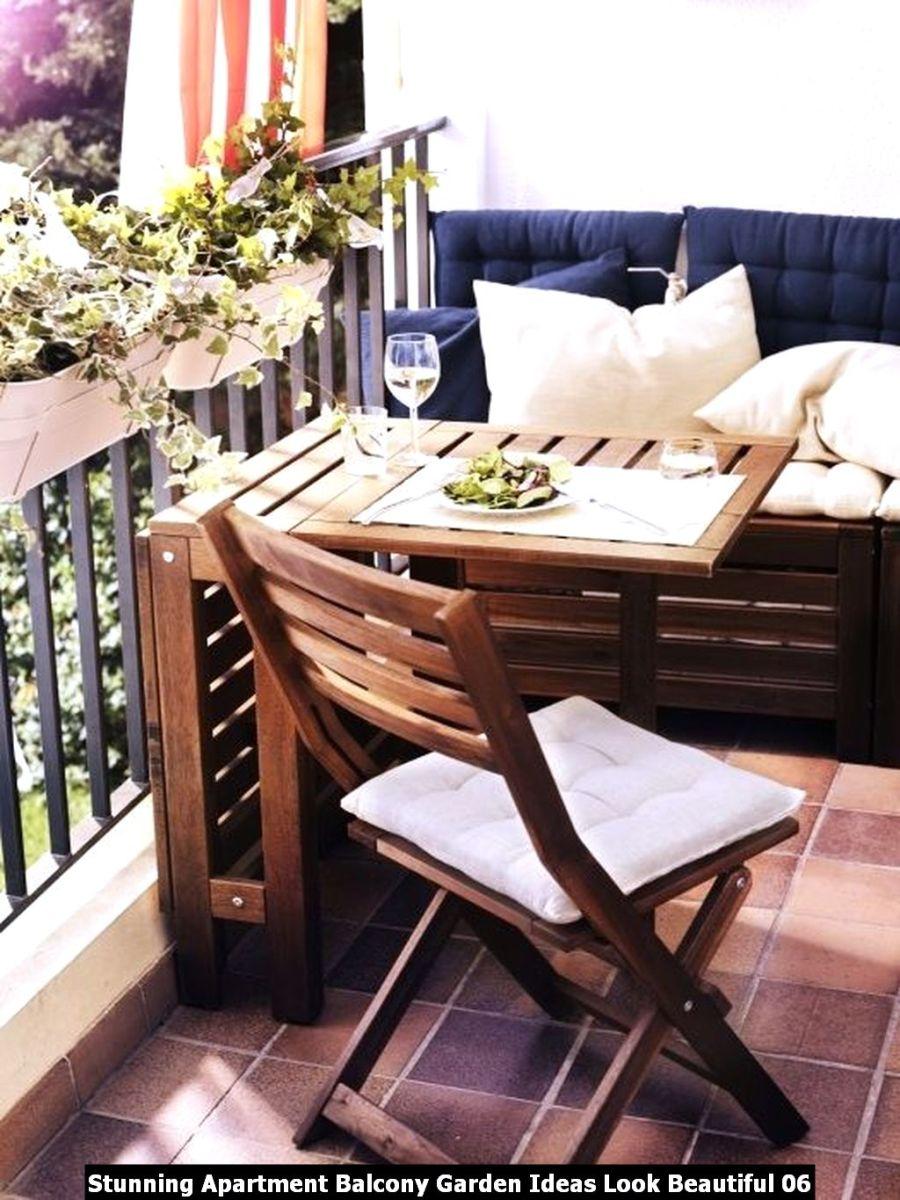 Stunning Apartment Balcony Garden Ideas Look Beautiful 06