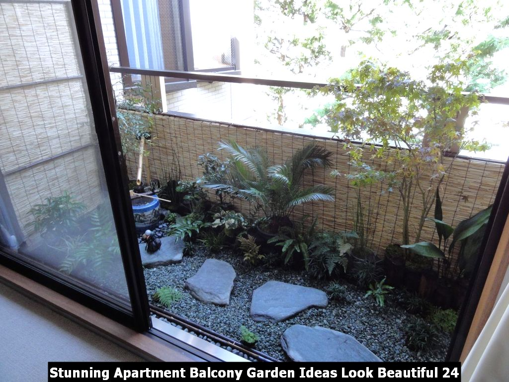 Stunning Apartment Balcony Garden Ideas Look Beautiful 24