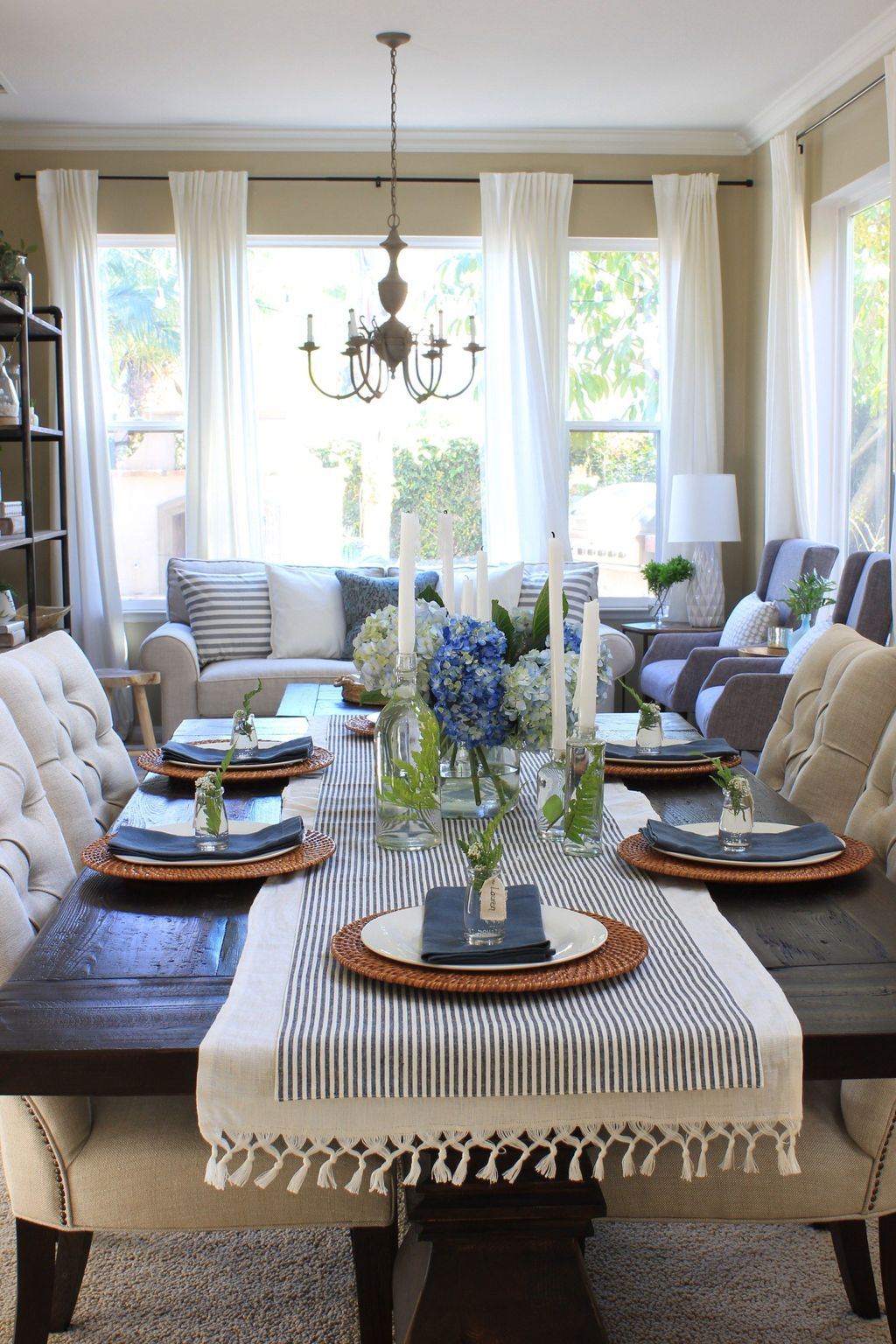 The Best Farmhouse Style Spring Tablescape Decor Ideas 09