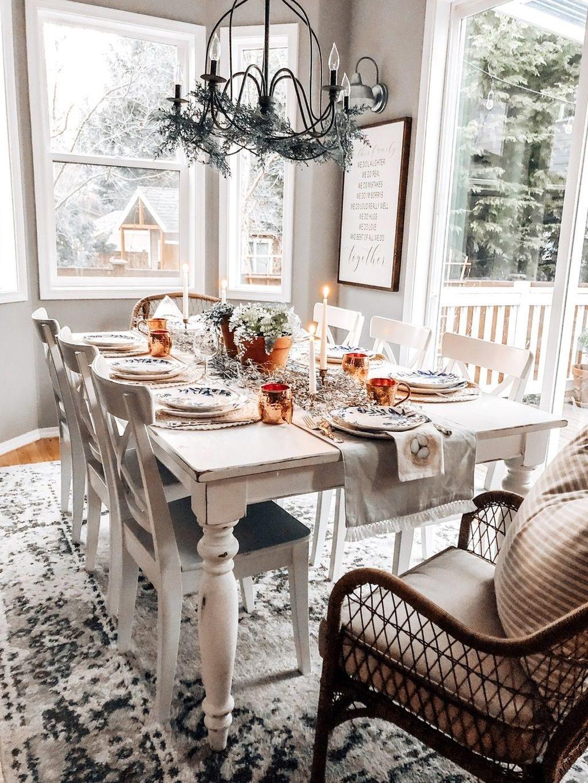 The Best Farmhouse Style Spring Tablescape Decor Ideas 15