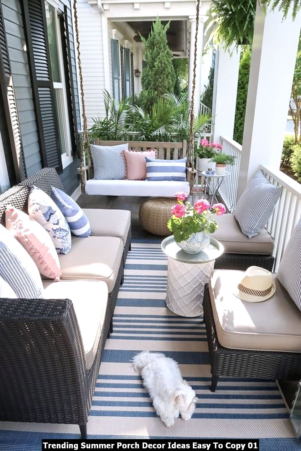 Trending Summer Porch Decor Ideas Easy To Copy 01