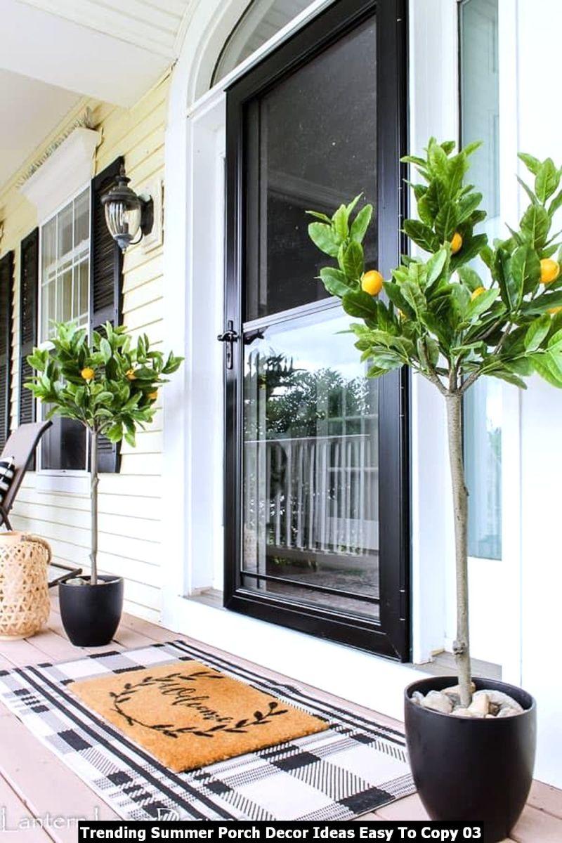Trending Summer Porch Decor Ideas Easy To Copy 03