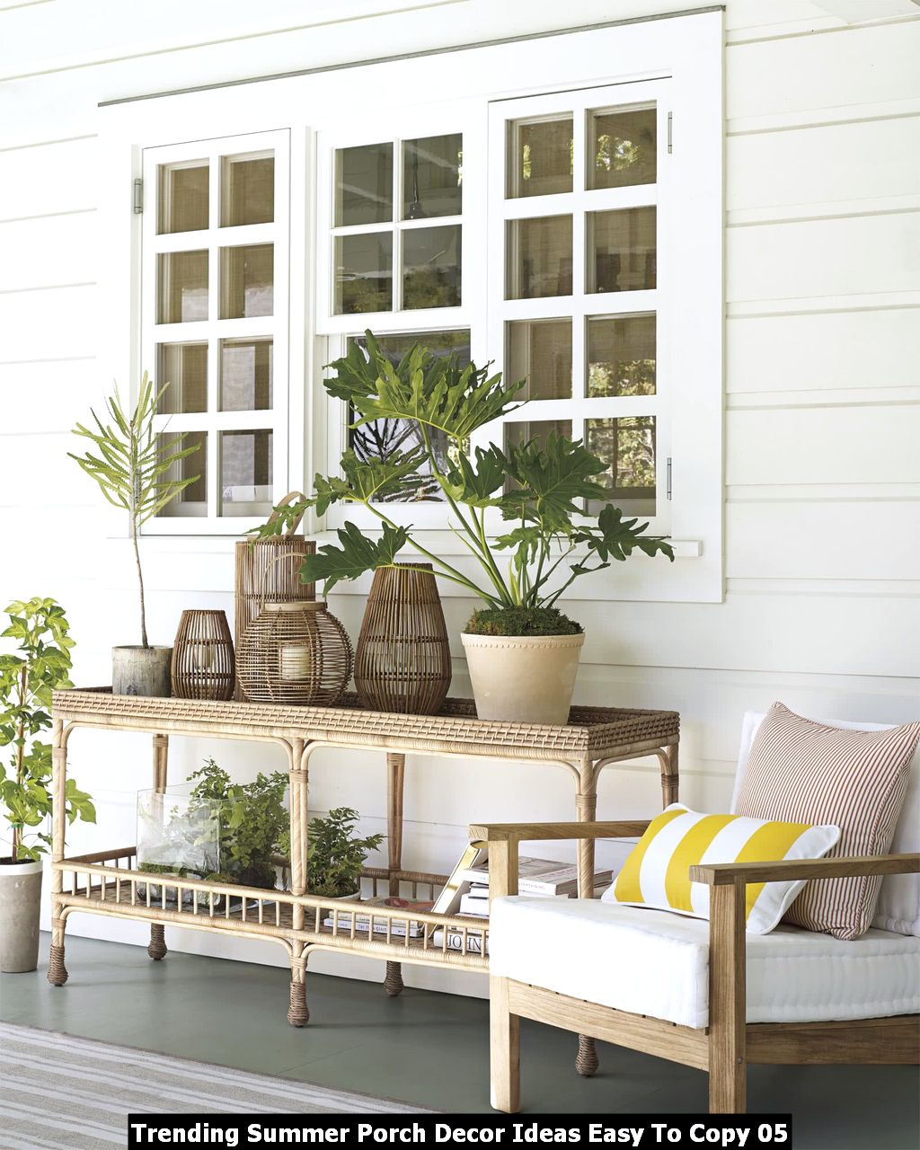 Trending Summer Porch Decor Ideas Easy To Copy 05