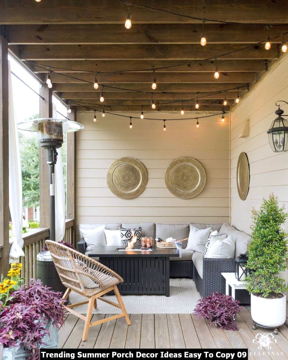 Trending Summer Porch Decor Ideas Easy To Copy 09