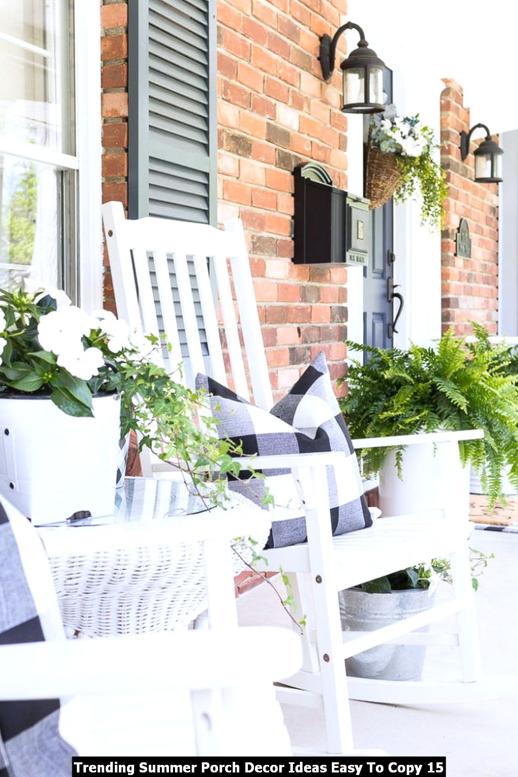 Trending Summer Porch Decor Ideas Easy To Copy 15