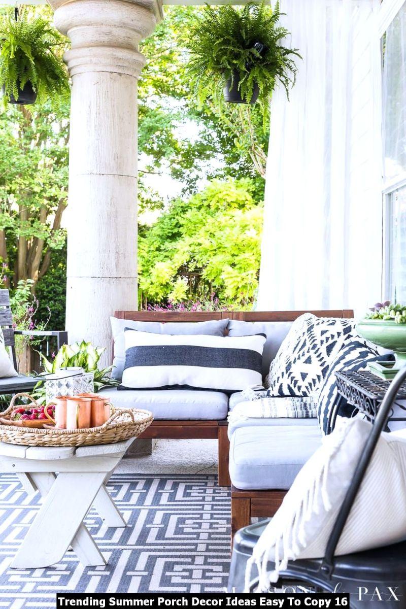 Trending Summer Porch Decor Ideas Easy To Copy 16