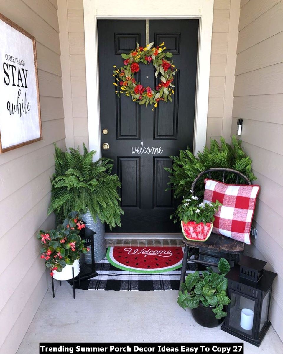 Trending Summer Porch Decor Ideas Easy To Copy 27
