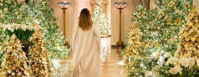 Melania Trump Christmas Decorations 2019