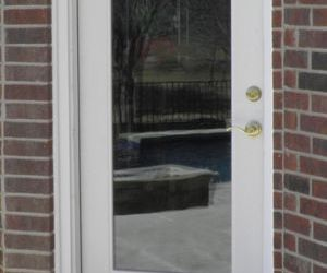 Full Glass Exterior Door