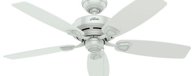 White Outdoor Ceiling Fan