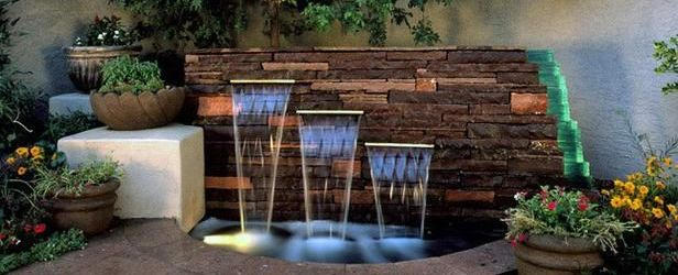 Water Fountain Garden Ideas