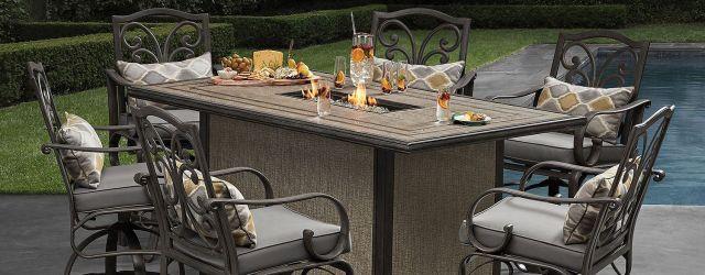Bar Height Outdoor Dining Set