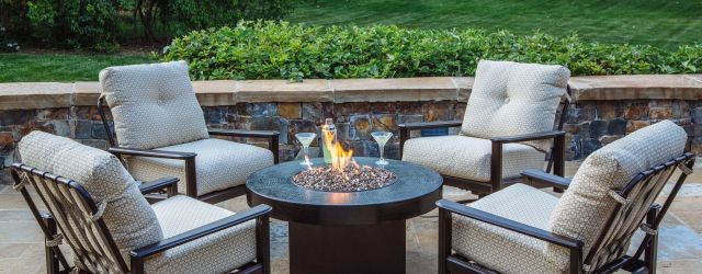 Outdoor Fire Pit Set