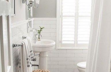 Vinyl Tile Bathroom