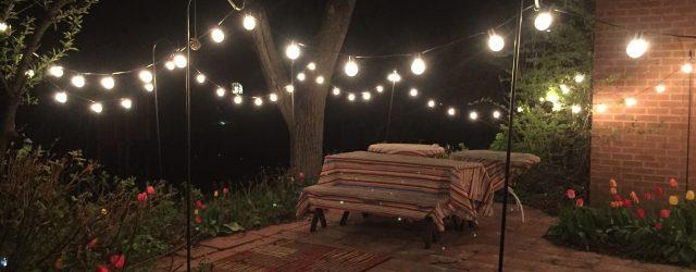 Outdoor Bulb String Lights