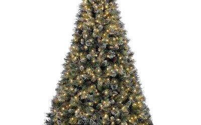 Artificial Prelit Christmas Trees