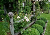 Awesome Fence With Evergreen Plants Landscaping Ideas 110