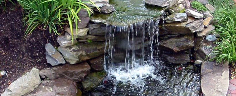 Ordinaire Mini Waterfall In The Garden