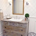Rustic farmhouse style bathroom design ideas 21