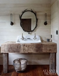 Rustic farmhouse style bathroom design ideas 5 - Hoommy.com