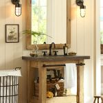 Rustic farmhouse style bathroom design ideas 7