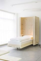 Saving space with creative folding bed ideas 37