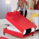 Saving space with creative folding bed ideas 5