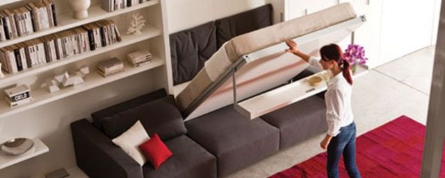Saving space with creative folding bed ideas