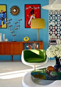 Inspiring Contrast Color Theme Interior Design 12