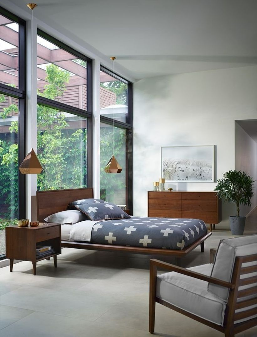 Simple and Comfortable Bedroom Design Ideas 8