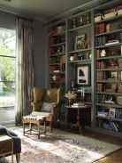 Inspiring Home Library Design and Decorations 12