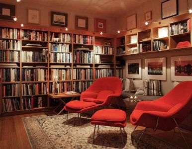 Inspiring Home Library Design and Decorations 15