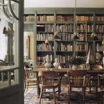 Inspiring Home Library Design and Decorations 23