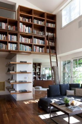 Inspiring Home Library Design and Decorations 28