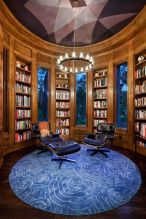 Inspiring Home Library Design and Decorations 31