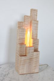 Amazing Wood Lamp Sculpture for Home Decoratios 11