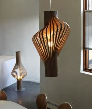Amazing Wood Lamp Sculpture for Home Decoratios 18