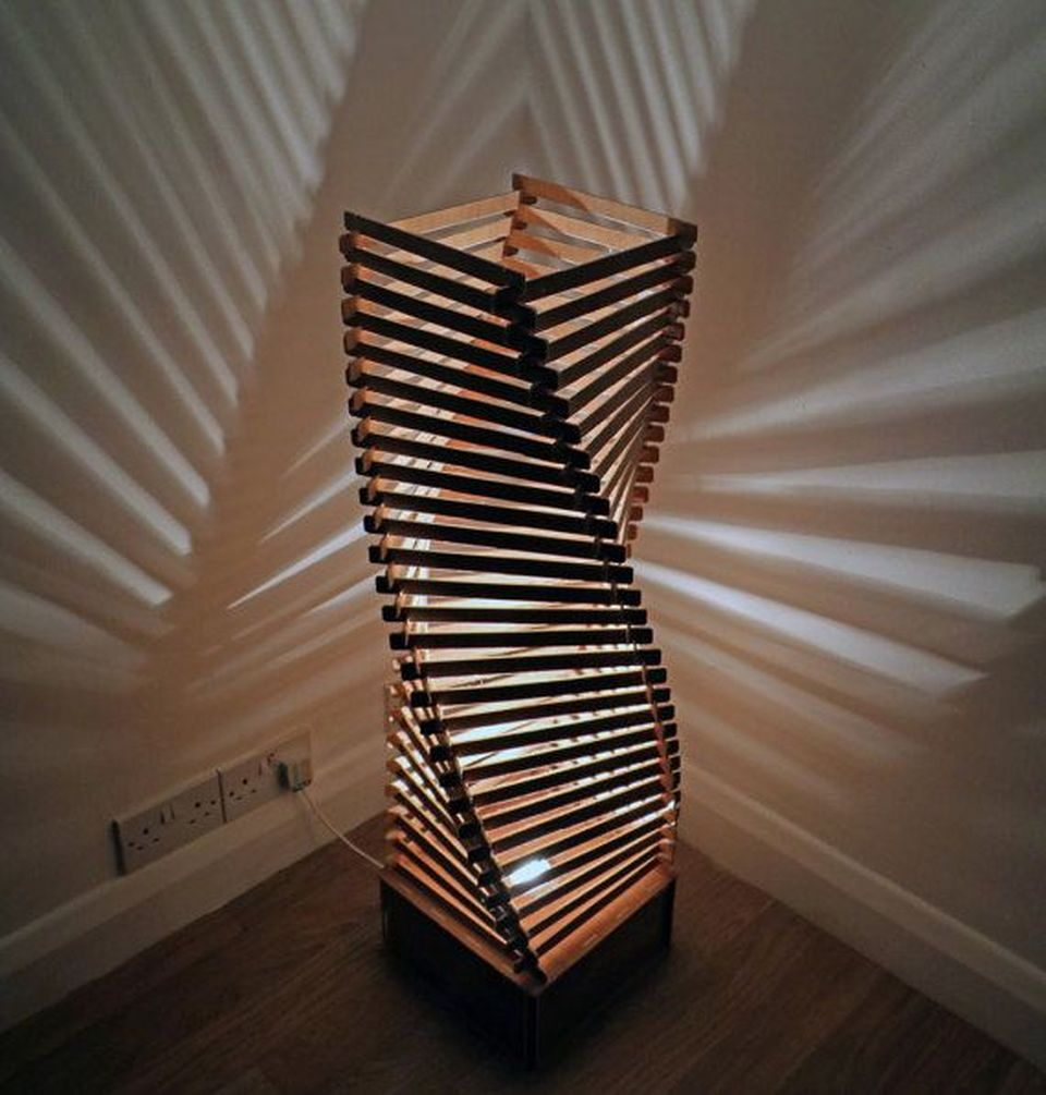Amazing Wood Lamp Sculpture for Home Decoratios 2