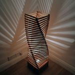 Amazing Wood Lamp Sculpture for Home Decoratios 36
