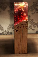 Amazing Wood Lamp Sculpture for Home Decoratios 56