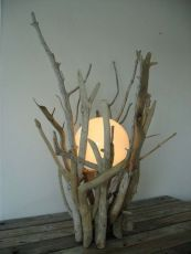 Amazing Wood Lamp Sculpture for Home Decoratios 69