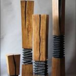 Amazing Wood Lamp Sculpture for Home Decoratios 75