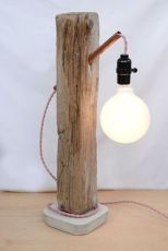 Amazing Wood Lamp Sculpture for Home Decoratios 76